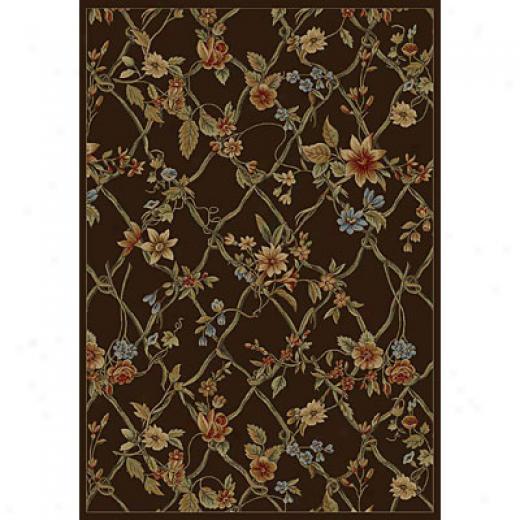 Kas Oriental Rugs. Inc. Monte Carlo Ii 2 X 2 Monte Carlo Ii Mocha Vind Trellis Area Rugs