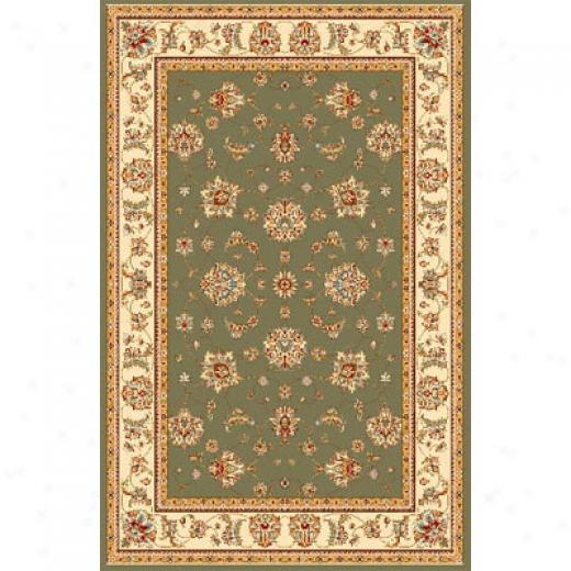 Kas Oriental Rugs. Inc. Monroe 10 X 13 Sage Ivory Mahal Area Rugs