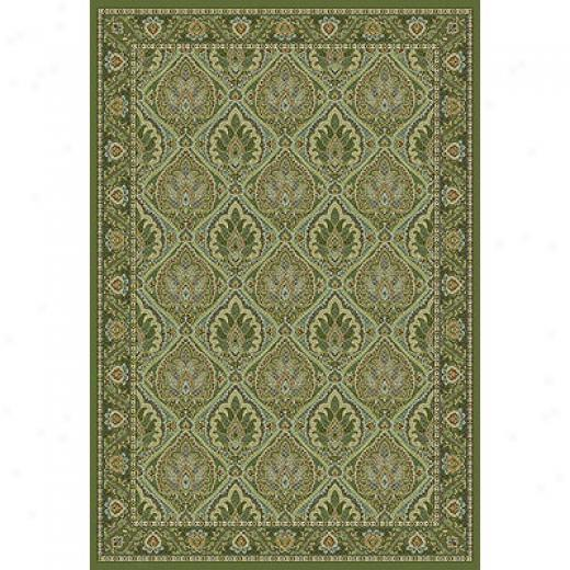 Kas Oriental Rugs. Inc. Monte Carlo Ii Runner 2 X 7 Monte Carlo Ii Olive Arts & Crafts Area Rugs