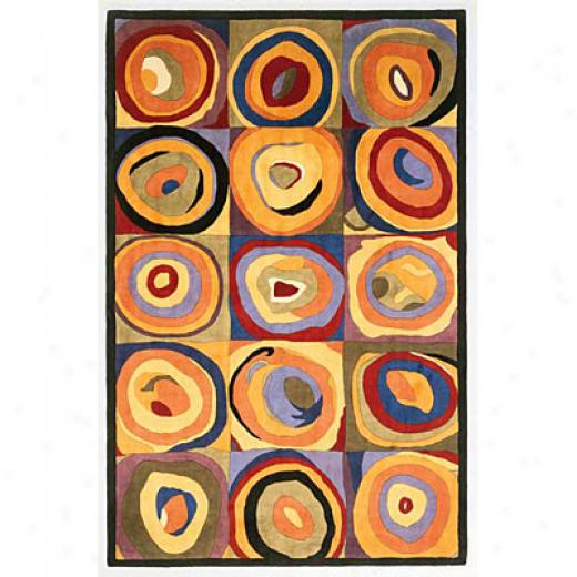 Kas Oriental Rugs. Inc. Signature 5 Round Signature Multi Soho Area Rugs