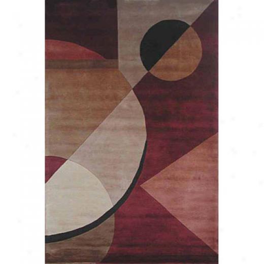 Kas Oriental Rugs. Inc. Signature 8 X 11 Signature Rust Contemporary Area Rgus