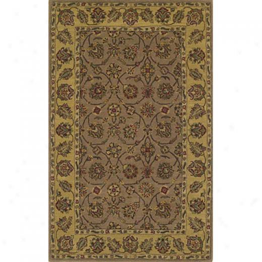 Kas Orjental Rugs. Inc. Sonoma 7 X 9 Sonoma Brown/gol dTabriz Area Rugs