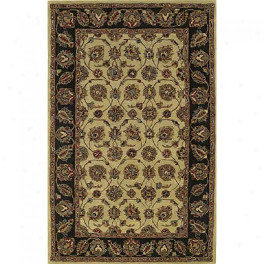 Kas Oriental Rugs. Inc. Sohoma 5 X 8 Sonoma Ivory/black Tabriz Area Rugs