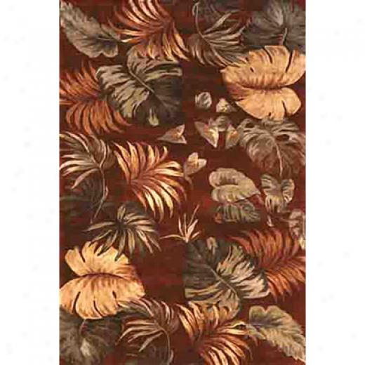 Kas Oriental Rugs. Inc. Sparta 8 X 11 Sparta Red Palm Leaves Area Rugs