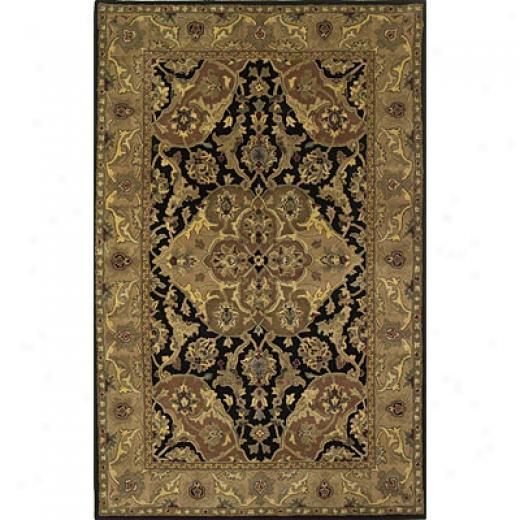 Kas Oriental Rugs. Inc. Taj Palace 3 X 5 Taj Palace Black/coffee Polynaise Area Rugs
