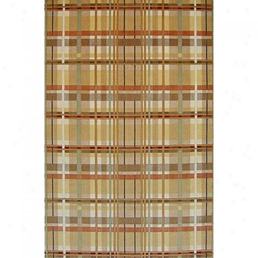 Kas Oriental Rugs. Inc. Tate 5 X 8 Tate Earthtone Plaid Area Rugs