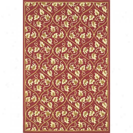 Kas Oriental Rugs. Inc. Veranda 3 X 5 Veranda Cinnamon/beige Vines Area Rugs