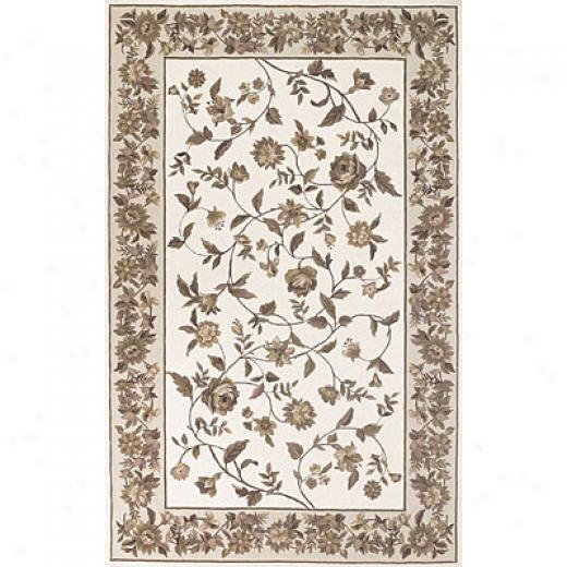 Kas Oriental Rugs. Ijc. Winslow 2 X 4 Winslow Ivory/flax Cameo Vines Area Rugs