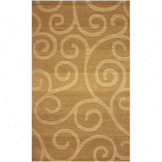 Klaussner Home Furnishings Soul Mates 1 8 X 11 Gold Area Rugs