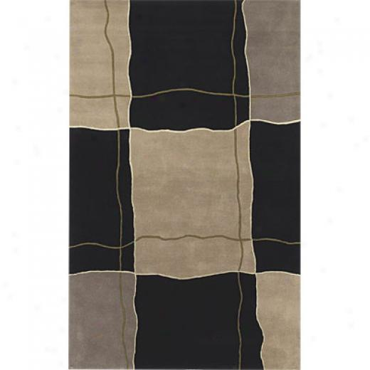 Klaussner Home Furnishings Layed Out 5 X 8 Charcoal Area Rugs