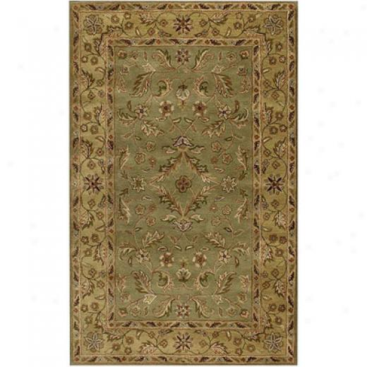 Klaussner Home Fuurnishings Oliver 5 X 8 Green Area Rugs