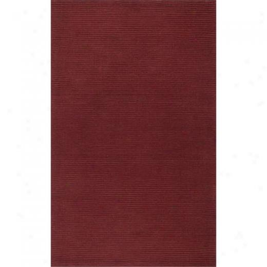 Klaussner Home Furnisings Clean Sweep 8 X 11 Red Area Rugs