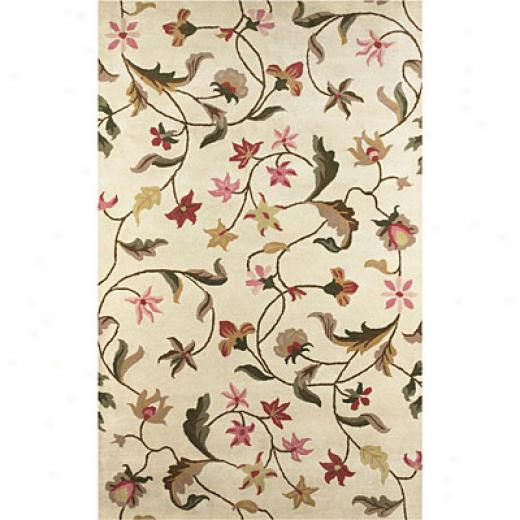 Klaussner Home Furnishings Blooming Buds 5 X 8 Blooming Buds Area Rugs