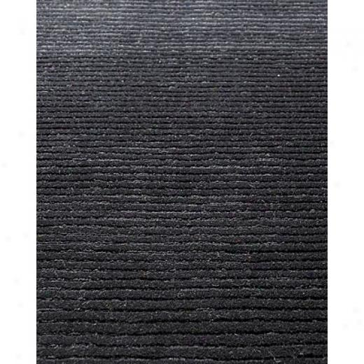 Klaussner Home F8rnishings Clean Sweep 5 X 8 Black Area Rugs