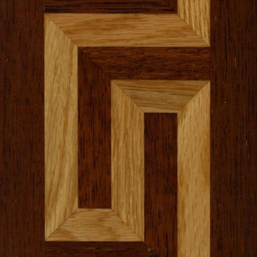 Lm Flooring Borders Greek Key (merbau White Oak) Hardwood Flooring