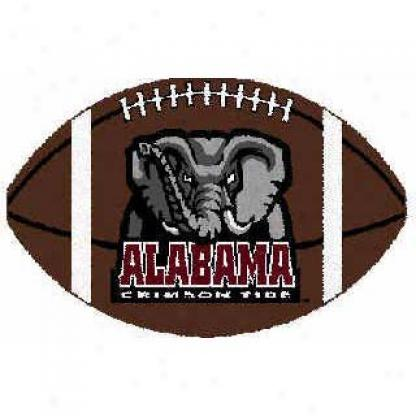 Logo Rugs Alabama University Alabama Football 3 X 6 Area Rugs