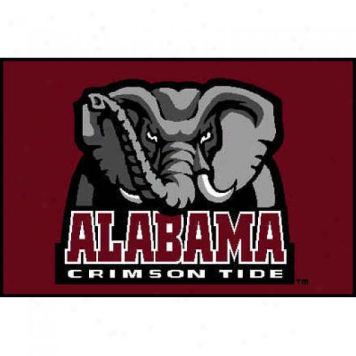 Logo Rugs Alabama University Alabama Passage  Mat 1 X 2 Area Rugs