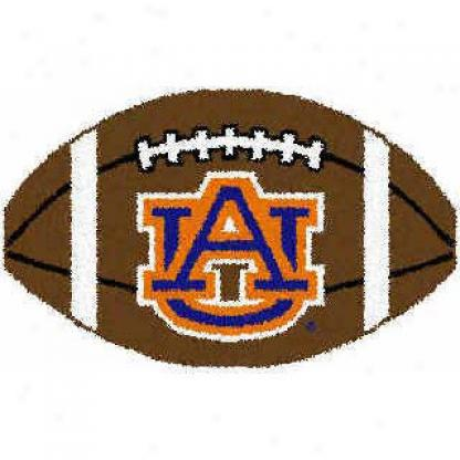 Logo Rugs Auburn University Auburn Football 1 X 2 Area Rugs