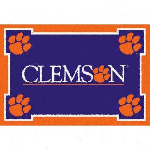 Logo Rugs Clemson University Clemson Cwr Mat Area Rugs
