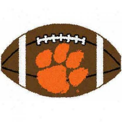 Logo Rugs Clemson University Clemson Football 2 X 2 Area Rugs