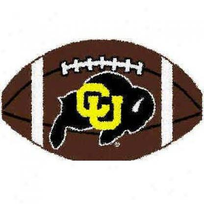 Logo Rugs Colorado University Colorado Football 3 X 6 Area Rugs