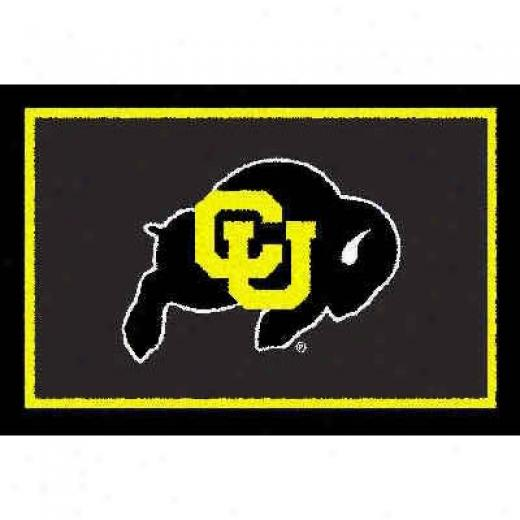 Logo Rugs Colorado University Colorado Area Rug 3 X 5 Superficial contents Rugq