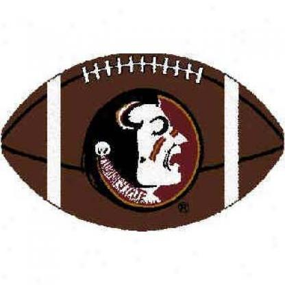 Logo Rugs Florida State University Florida State Football 3 X 6 Area Rugs