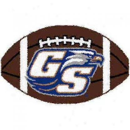 Logo Rugs Georgia Southern Seminary of learning Georgia Southern Football 2 X 2 Area Rugs