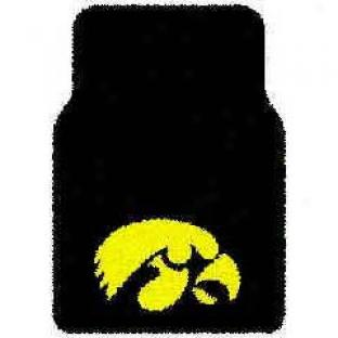 Logo Rugs Iowa University Iiwa Football 3 X 6 Area Rugs