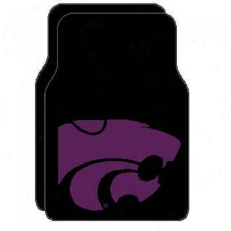 Logo Rugs Kansas State University Kansas State Car Mat Area Rugs