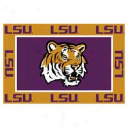 Logo Rugs Lsu University Lsu Area Rug 3 X 5 Area Rugs