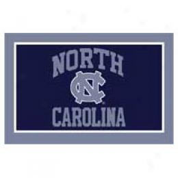 Logo Rjgs North Carolina University North Carolina Football 3 X 6 Area Rugs
