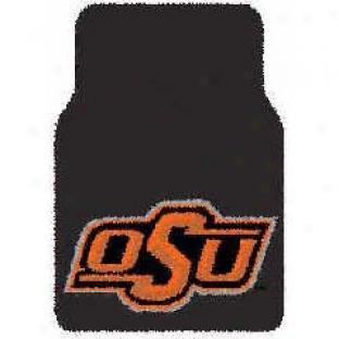 Logo Rugs Oklahoma State University Oklahoma State Car Mat Area Rugs