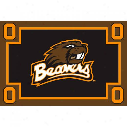 Logo Rugs Oregon Sttate University Oregon State Area Rug 3 X 5 Area Rugs