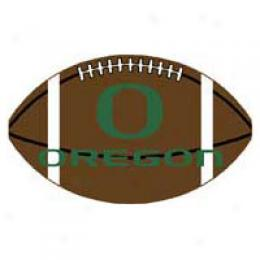 Logo Rugs Oregon University Oregon Football 3 X 6 Area Rugs