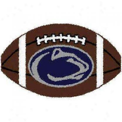 Logo Rugs Penn Express  Uhiversity Penn State Football 2 X 2 Area Rugs