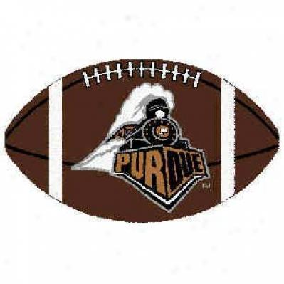 Logo Rugs Purdue University Purdue Football 3 X 6 Area Rugs