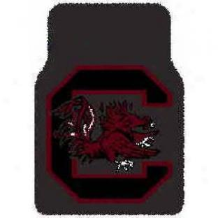 Logo Rugs South Carolina University South Carolina Football 3 X 6 Area Rugs