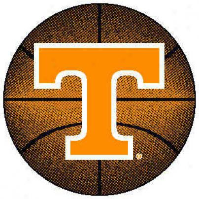 Logo Rugs Tennnessee University Tennessee Basketball 4 Ft Area Rugs