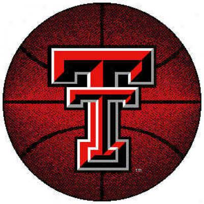 Logo Rugs Texas Tech University Texas Tech Basketball 4 Ft Area Rugs