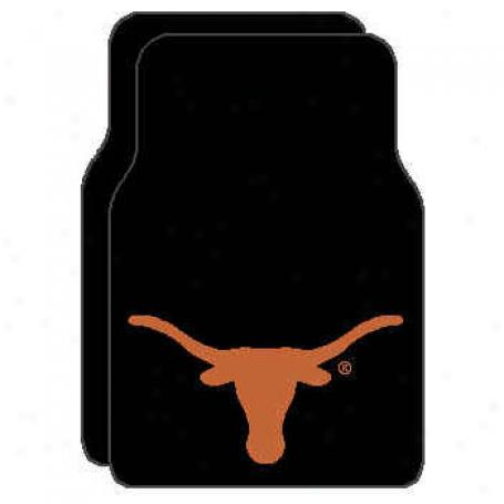 Logo Rugs Texas University Texas Cat Mat Area Rugs