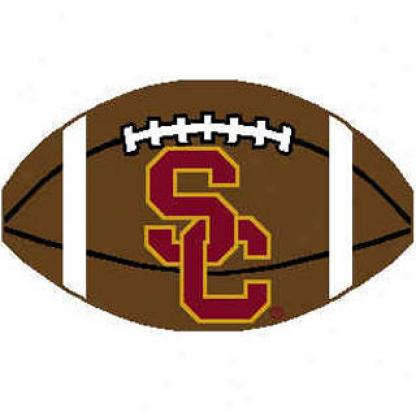 Logo Rugs Usc University Ussc Football 2 X 2 Area Rugs