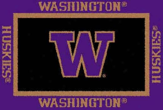 Logo Rugs Washington University Washington Area Rug 3 X 5 Area Rugs