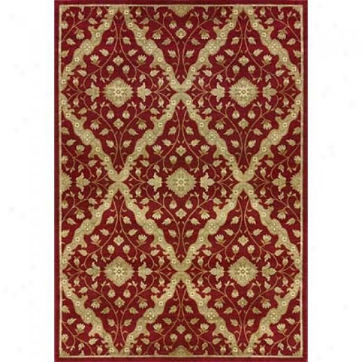 Loloi Rugs Ambrosd 10 X 13 Red Area Rugs