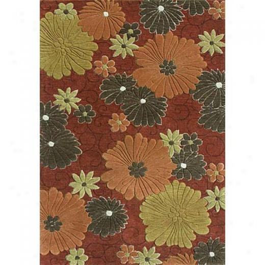 Loloi Rugs Cleburn 8 X 11 Ivory Red Area Rugs