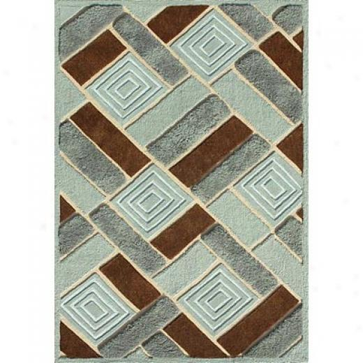 Loloi Rugs Eldby 8 X 10 Bpue Dark Brown Area Rugs