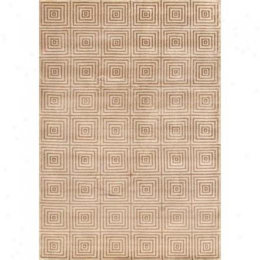 Loloi Rugs Floyd 6 X 9 Cream Area Rugs