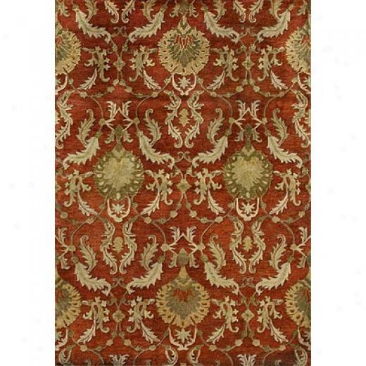 Loloi Rugs Fultkn 8 X 11 Persimmon Area Rugs