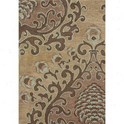 Loloi Rugs Kalista 8 X 10 Gold Superficial contents Rugs