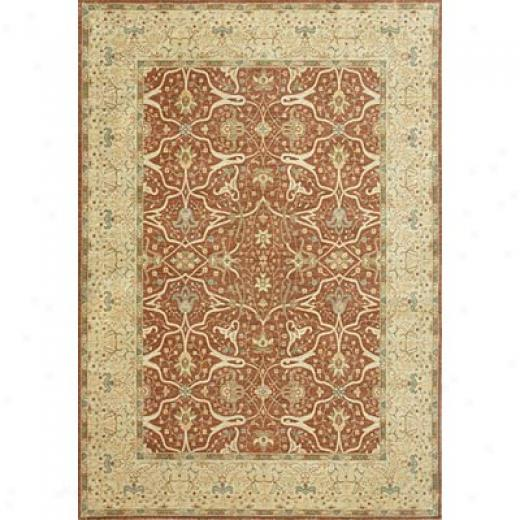 Loloi Rugs Legzcy 10 X 13 Rust Buoyant Gold Area Rugs
